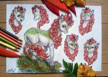 [Commission] Autumn Blaze by GaelleDragons