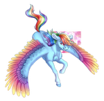 Rainbow Dash (+SPEEDPAINT)
