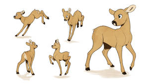 Skip character sketches (Chasing the Light)