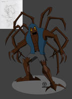 Commission: Tarantula Man Redesign by Tim-Solomon