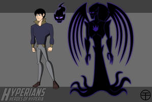 Hyperians: Thomas Drake/Darkstar and Marr by Tim-Solomon