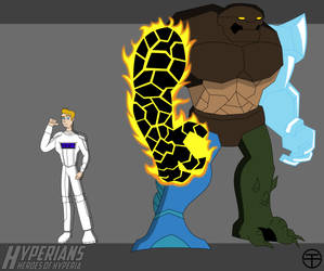 Hyperians: Brad Banner aka Elementor