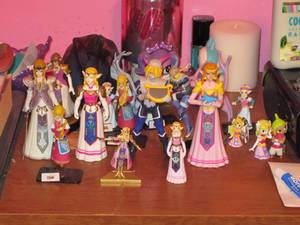 Zelda Figurine Collection