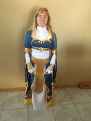 BotW Zelda Royal Dress Cosplay 1