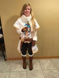 BotW Zelda Winter Outfit Cosplay 2