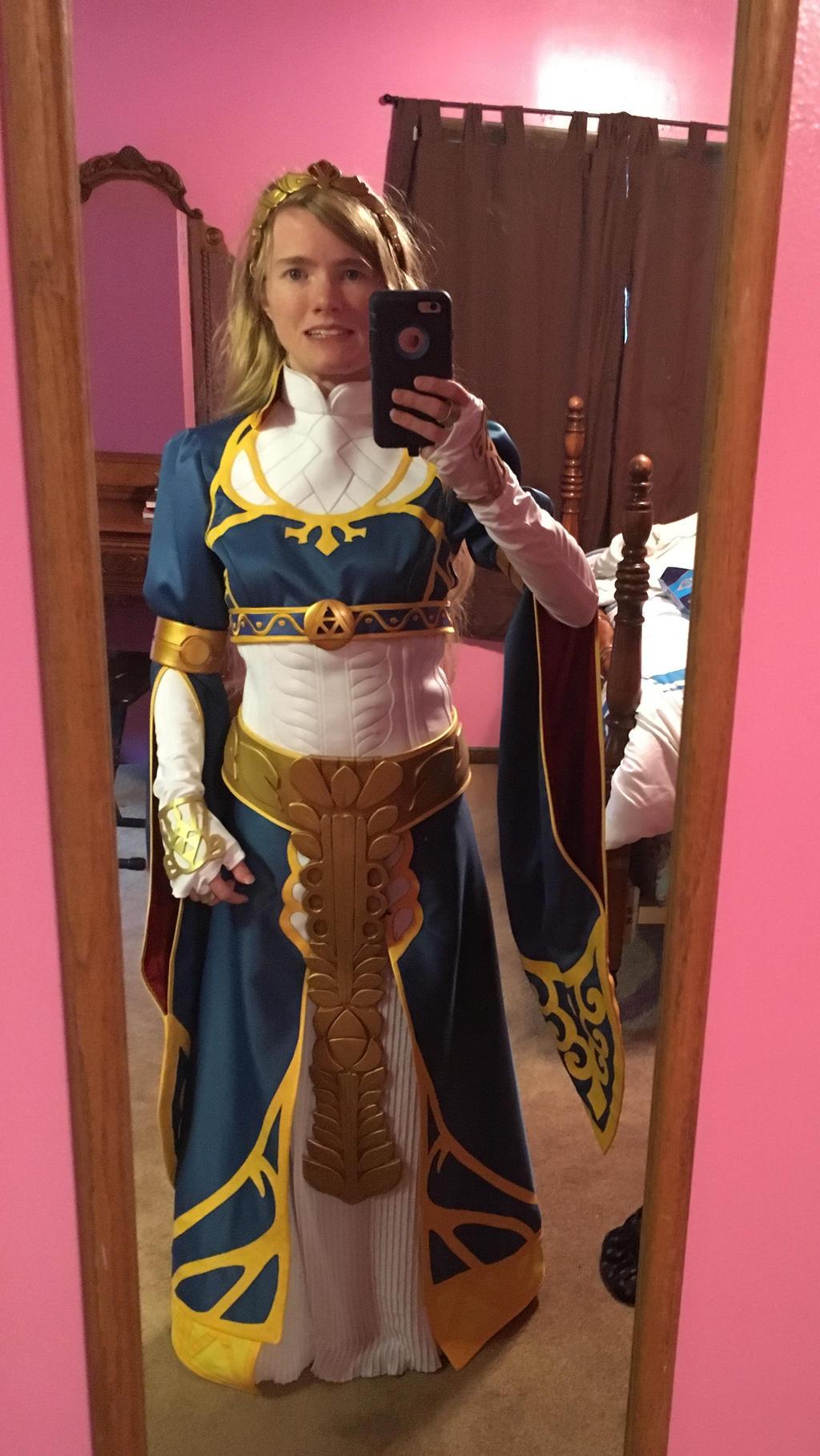 Botw Zelda Royal Dress Cosplay Updated By Princess Selia On