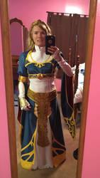 BotW Zelda Royal Dress Cosplay Updated