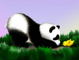 Easter Panda by Hazey1988