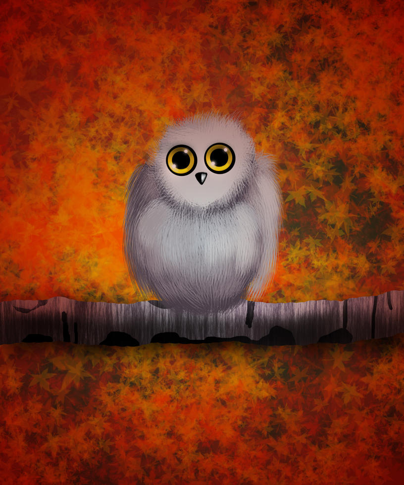 Autumn Owl by Hazey1988