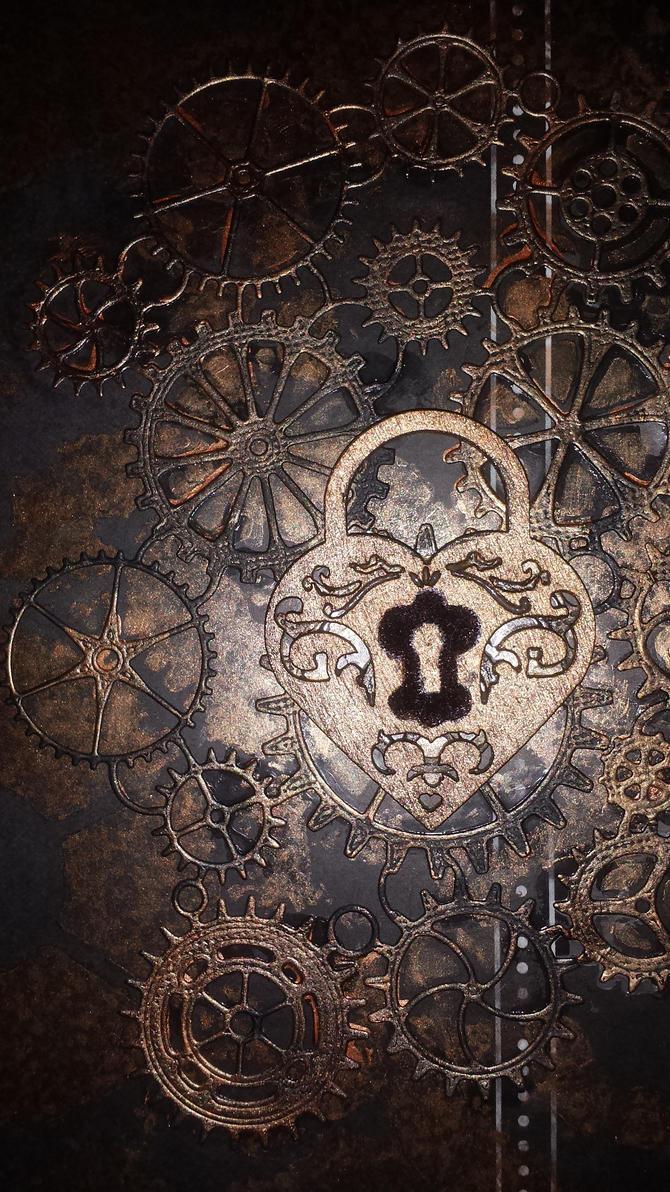Steampunk decoration for big scrapbook. by Hazey1988