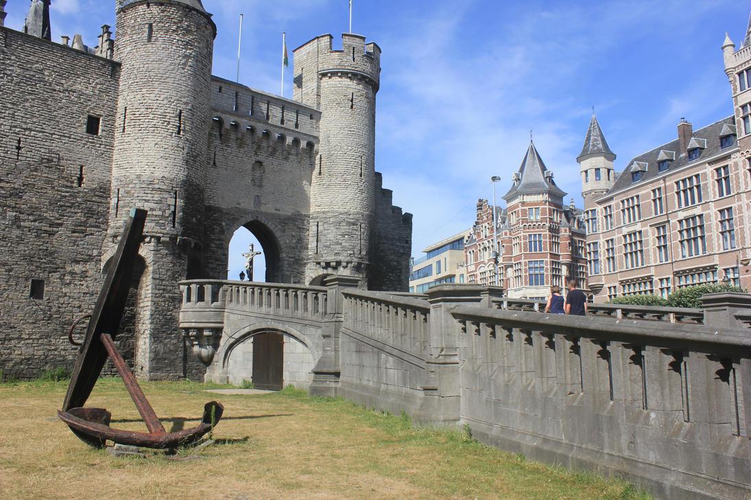 Het Steen castle by Andre-anz