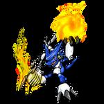 Blue Shoutmon