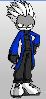 VergilTheHedgehog by swordplayer322