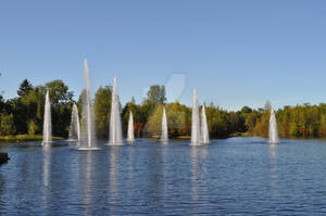 Fountains, Oulu, Finland