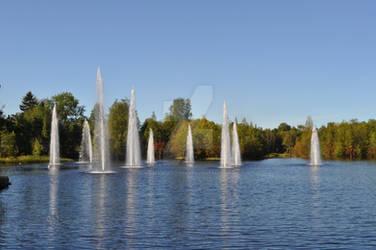 Fountains, Oulu, Finland