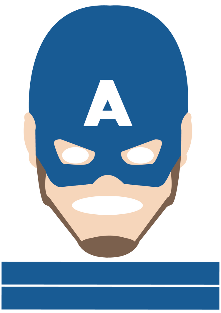 Captain America mask  For All  by CreativeDyslexic on DeviantArt