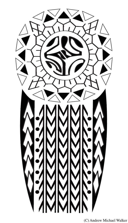 Polynesian Tattoo Design By Me By Creativedyslexic On Deviantart