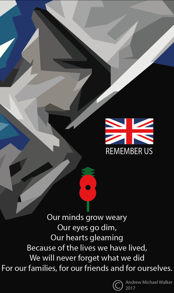 REMEMBER US POSTER 2017 by CreativeDyslexic