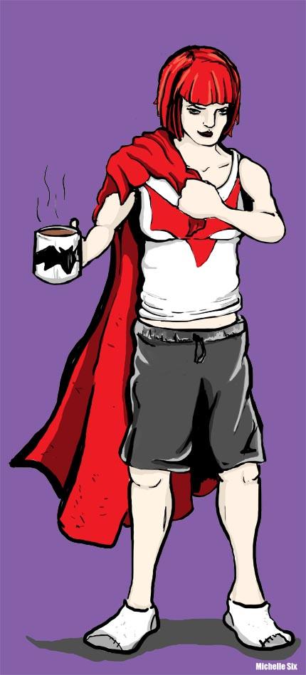 Batwoman PJ's by MichelleSix