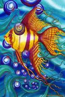 Angel fish by Ezeg