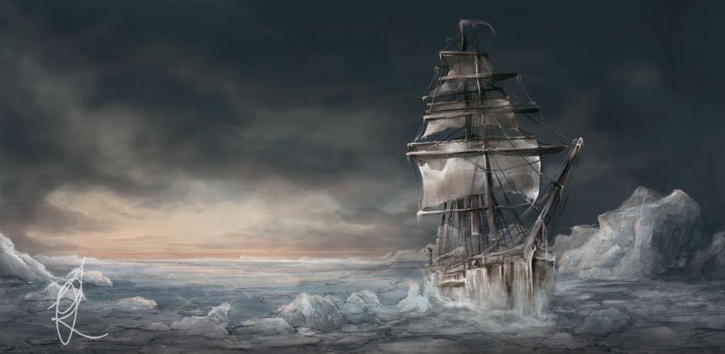 Ship icebound