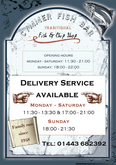 Fish and Chip Shop Flyer by cheery-macaroon