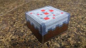 Minecraft Cake by Sirithre