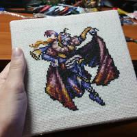 Kefka Cross Stitch by Sirithre