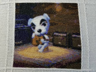 Animal Crossing Cross Stitch by Sirithre
