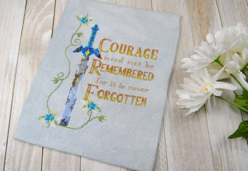 Zelda Courage Cross Stitch
