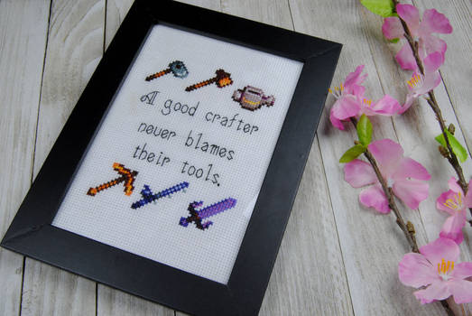 Stardew Valley Tools Cross Stitch