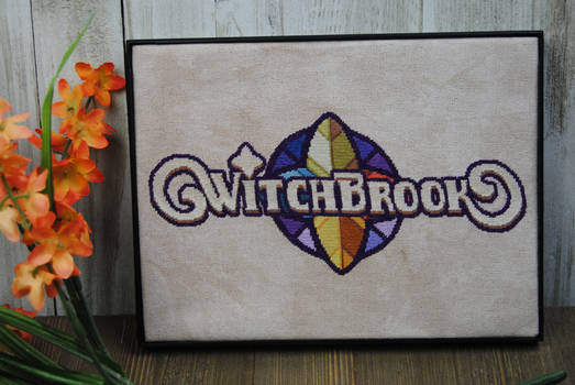 Witchbrook Logo Cross Stitch