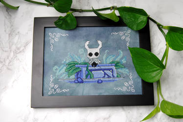 Hollow Knight Cross Stitch
