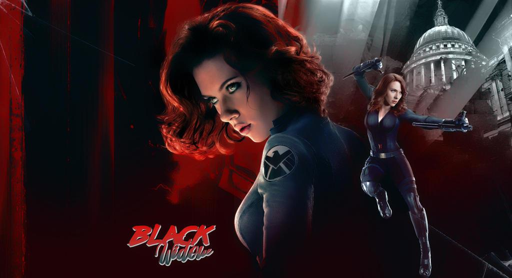 [Secret Santa Gift] Black Widow by DarknessOnly13