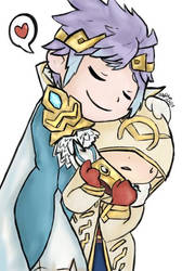 Hrid and Summoner by DarknessOnly13