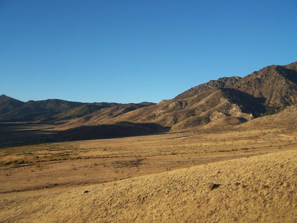 Desert mountain 1 by tkrain-stock