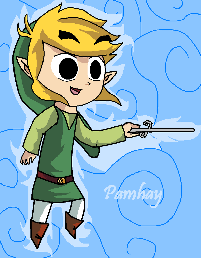 Toon Link and wind waker by  Toon Link Wind Waker