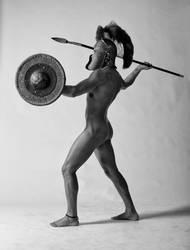 Modern Antiquity - Helm Shield Javelin - 01 by SandraChung