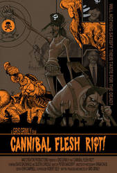 CANNIBAL FLESH RIOT! by GrisGrimly