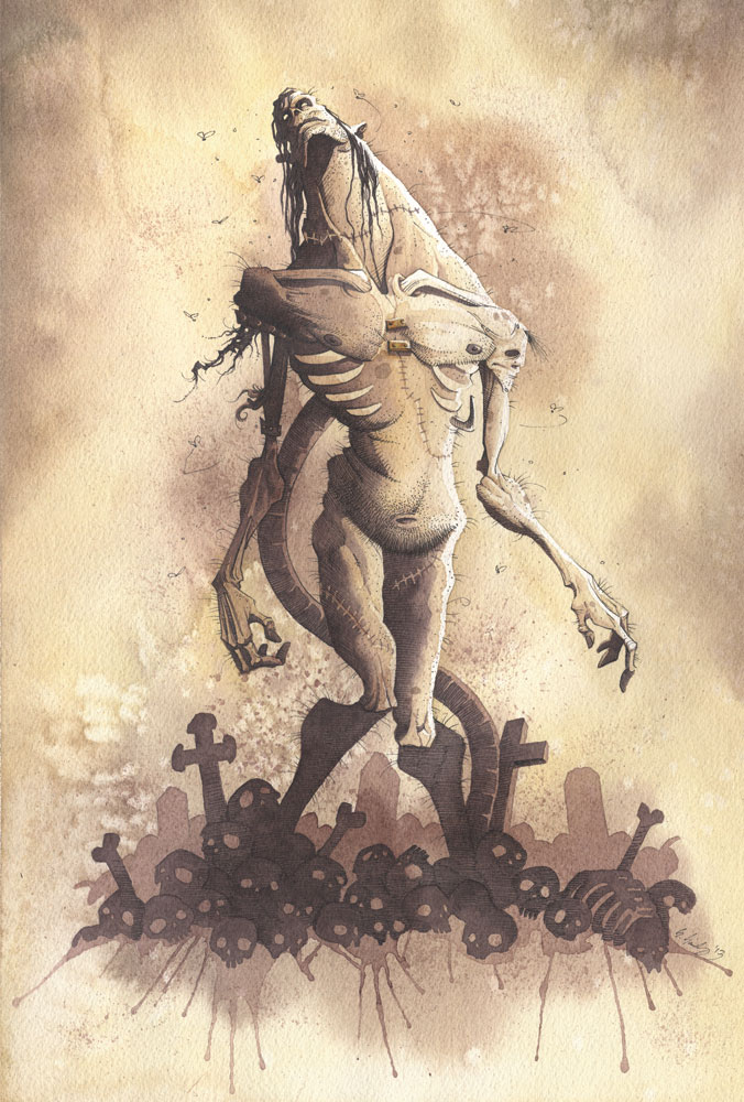 It's Alive 2013 by GrisGrimly