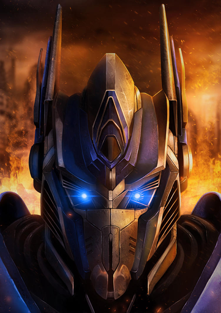 Optimus Prime by djambronx