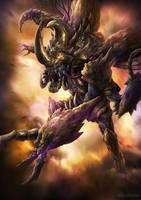 Hercules Kabuterimon by djambronx