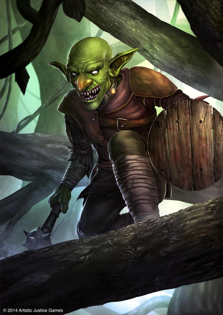 Goblin by djambronx