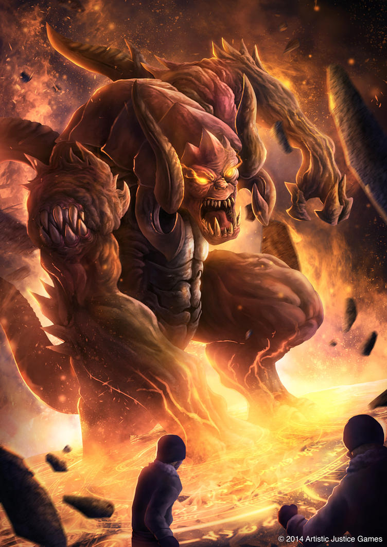 Summon Demon by djambronx