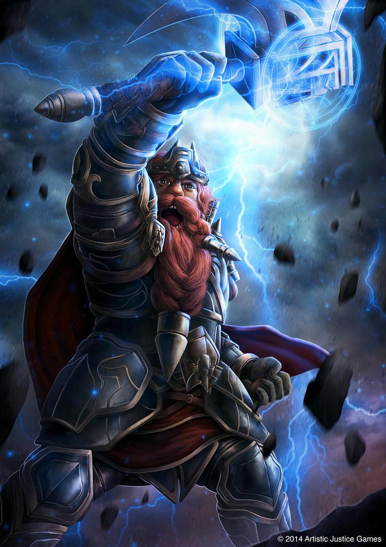 Dwarf King by djambronx