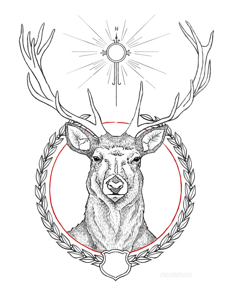 1000 images about ink on pinterest deer white pines and boy scouts. Black Bedroom Furniture Sets. Home Design Ideas