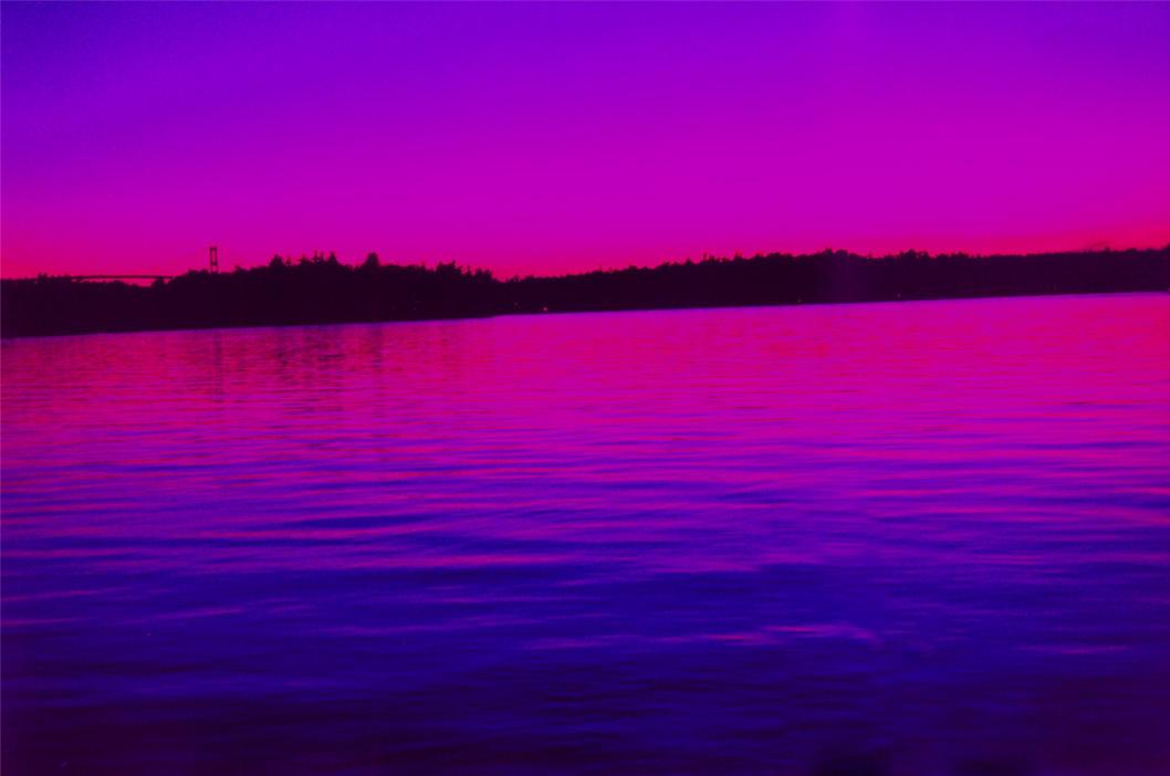 Purple Water Sunset By Tash11 On Deviantart