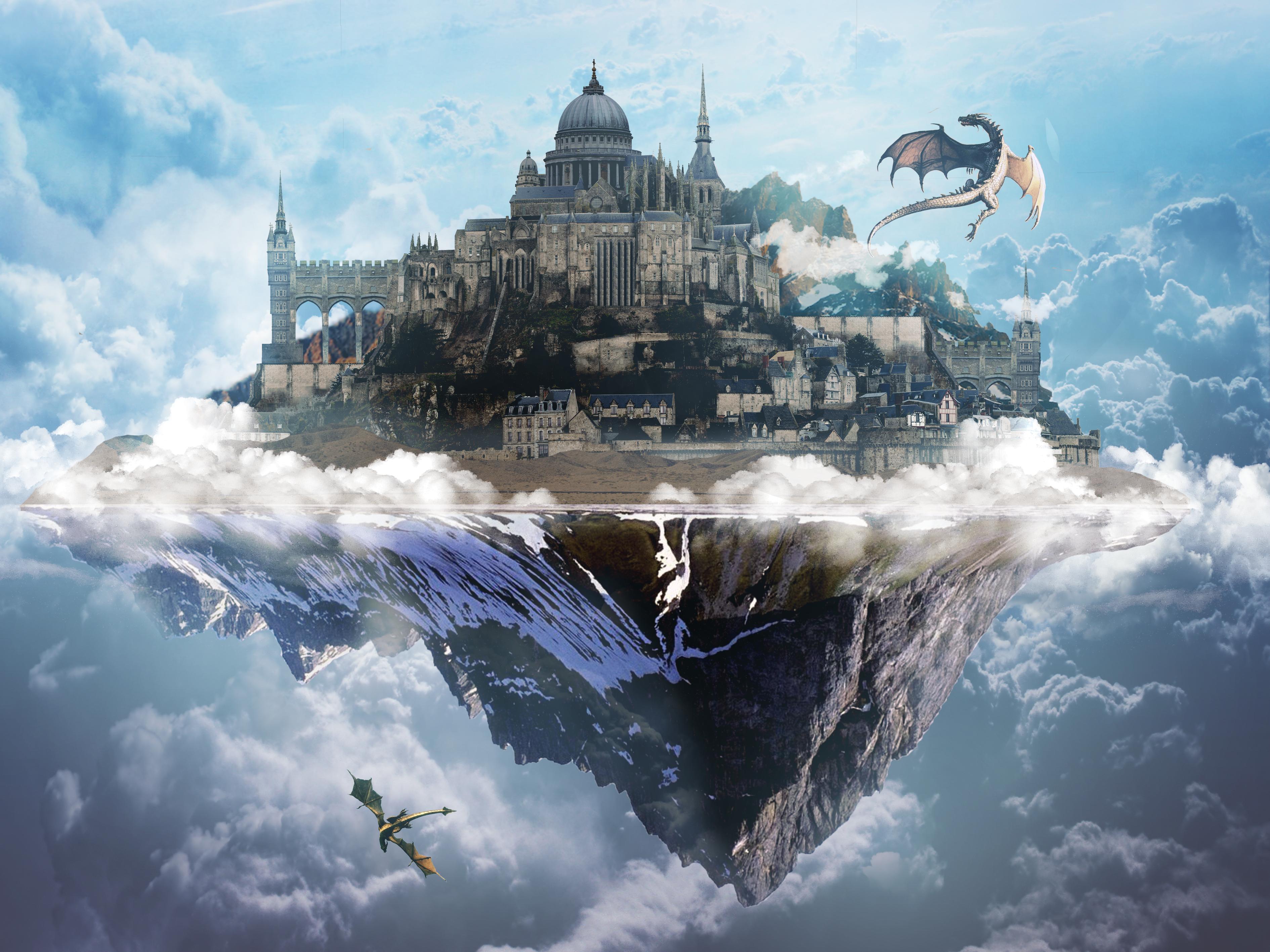 Flying City by ArtAndJoy