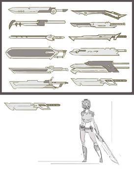 JAC: Sword concepts