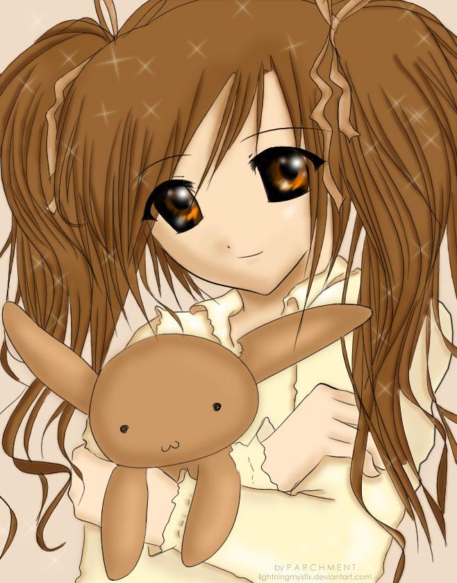 fan fics la frialdad puede ser amor? - Página 2 Brown_Plush_Rabbit_Girl_by_Lightningmystix